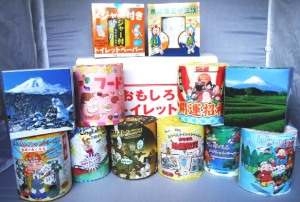 Vari tipi di carta igienica dedicata ai manga